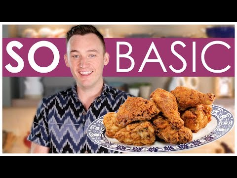 Easy Ranch Fried Chicken | #SoBasic