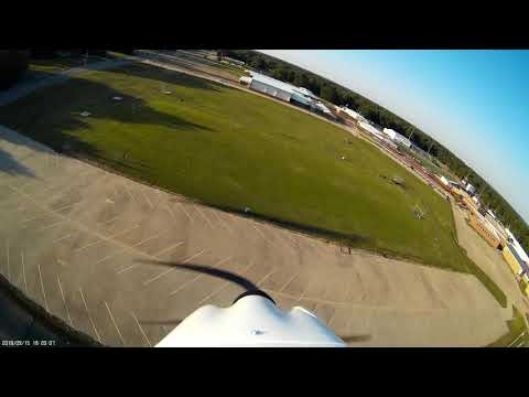 Fly over of Liberty Eylau High School 2