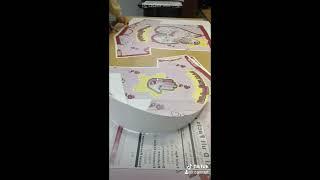 손님 주문 희한한 디자인 커스텀 티셔츠 제작 영상