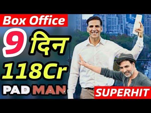 Padman 9th Day Box Office Collection   Growth Again   Akshay Kumar