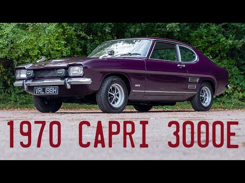 1970 Ford Capri 3000e goes for a drive