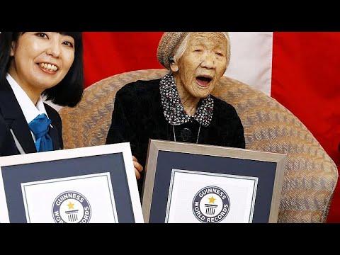 Japon : Une nouvelle doyenne de l'humanité