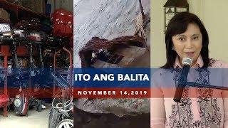 UNTV Ito Ang Balita November 14 2019