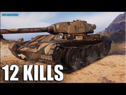 Т-54 первый образец ✅ Колобанов,12 фрагов ✅ World of Tanks лучший бой прем СТ 8 СССР