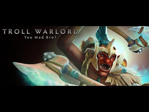 видео: troll warlord - dota 2 гайд от бога.  Ебашил ебашил - так и ненаебашил.))