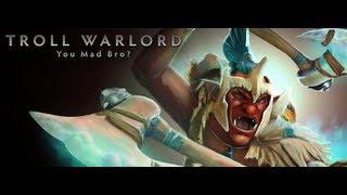 Troll Warlord - Dota 2 гайд от бога.  Ебашил ебашил - так и ненаебашил.))