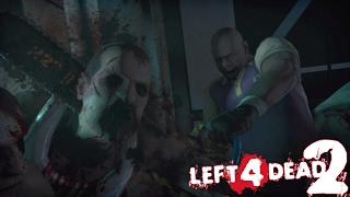 FUNNY COMMENTARY: LEFT 4 DEAD 2 GAMEPLAY WITH ITSREAL85 & PU55NBOOT5!