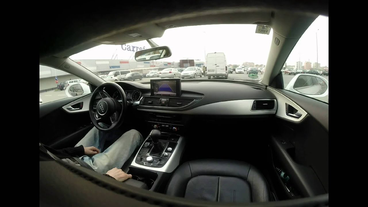 audi a7 park assist self parking system self driving parkt selbst