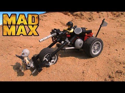 LEGO MAD MAX/ ЛЕГО безумный Макс самоделка