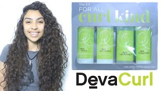 DevaCurl Kit For All Curl Kind Review