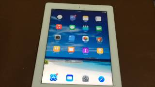 iOS 8 running on iPad 3rd Generation:Is it slow?