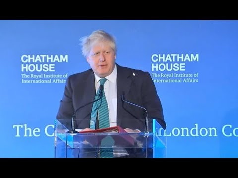 Boris Johnson's Speech to Donald Trump + Q&A (23 Oct 2017)