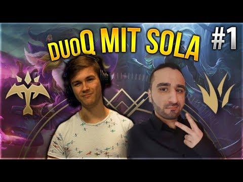 Sola x Silphi Duo Q! #1 [League of Legends] [Deutsch / German]