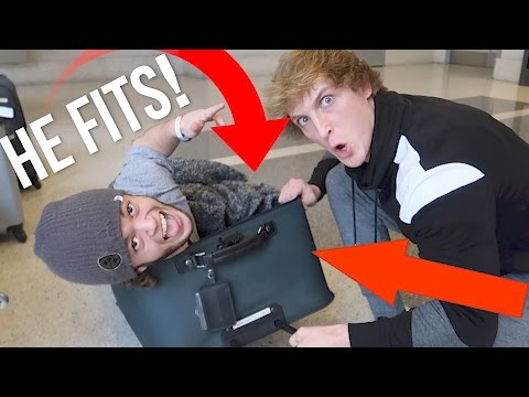Thumbnail: SMUGGLING A DWARF TO PARIS IN A SUITCASE! (and it worked)