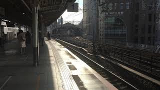 JR三ノ宮駅から阪急三宮駅を見渡す