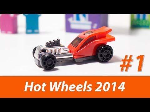 Видео: Hot Wheels 2014. Распаковка 18 лицензионных Киндер Сюрпризов  kinder surprise open