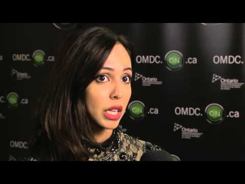 Gia Sandhu at OMDC's Celebrate Ontario during TIFF 2015
