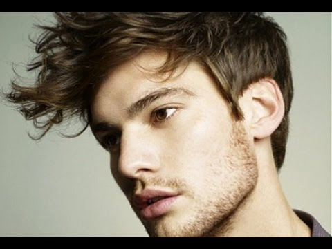 Mens Hairstyles Short Sides Long Fringe Youtube