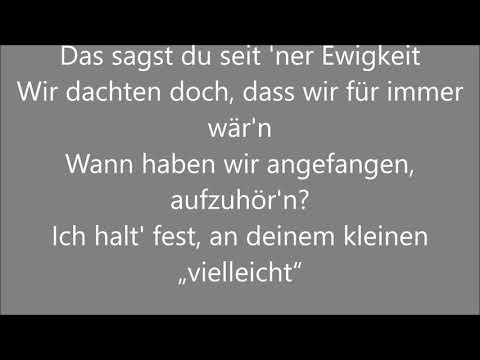 Wincent Weiss - An Wunder (Songtext/Lyrics)