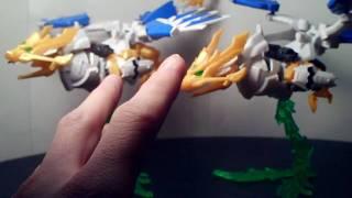 Lets Build Bandai & Jargon SD Tensyouryu Koumei Nu-Gundam Part 8