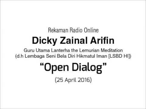 Radio Online Dicky Zainal Arifin: Open Dialog 25 April 2016