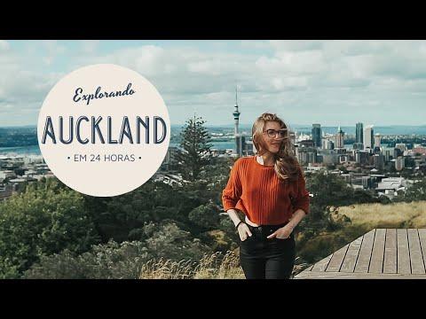 Um dia em AUCKLAND - Nova Zelândia