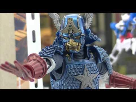 名将MANGA REALIZATION 侍 キャプテン・アメリカ Samurai Captain America @ Tamashii Nations Akiba Showroom