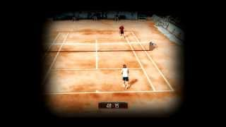 Top Spin 2 [PC] Nadal - Federer (Gameplay+Highlights)
