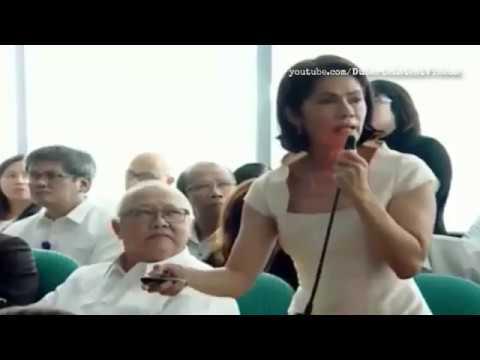 Senate Hearing DENR SEC.  Regina Lopez ginisa ng tga mining company