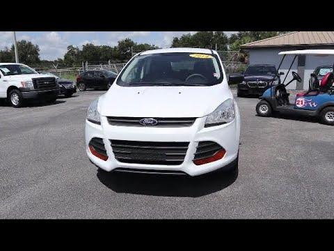 Plant City Ford >> 2014 Ford Escape S Plant City Brandon Lakeland Zephyrhills Tampa
