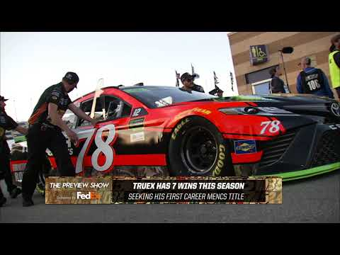 FedEx Preview Show: Homestead-Miami Speedway