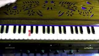 Harmonium Lesson 4 - Sharps and Flats in Indian and Western Music