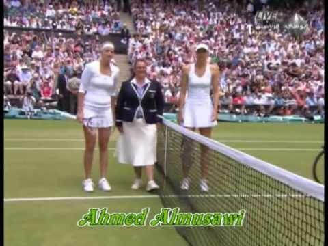 Petra Kvitova & Maria Sharapova finals Wimbledon - Women 2011