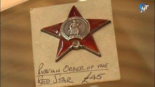 Орден Красной Звезды советского фронтовика занял почетное место в Зале воинской славы
