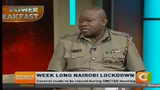 Power Breakfast: Week long Nairobi crackdown