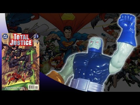 KENNER - BATMAN TOTAL JUSTICE - DARKSEID ACTION FIGURE REVIEW (ita)