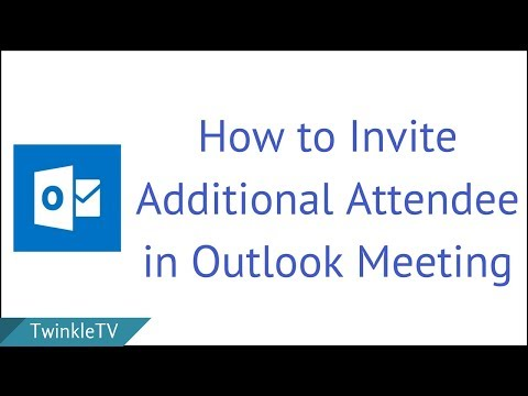 How to Invite Additional Attendee in Outlook Meeting