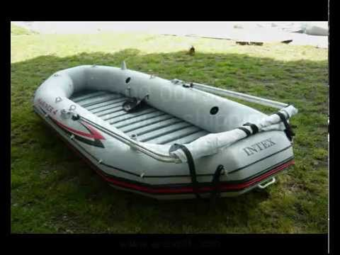 sunroof for intex Mariner 4 striska proti slunci canopy for inflatable boats - YouTube & sunroof for intex Mariner 4 striska proti slunci canopy for ...