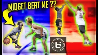 IshTheTrapper VS Professional MIDGET basketball Player 1v1 !!!!