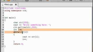 In this video tutorial on C++ I want to show you the basics of the ...