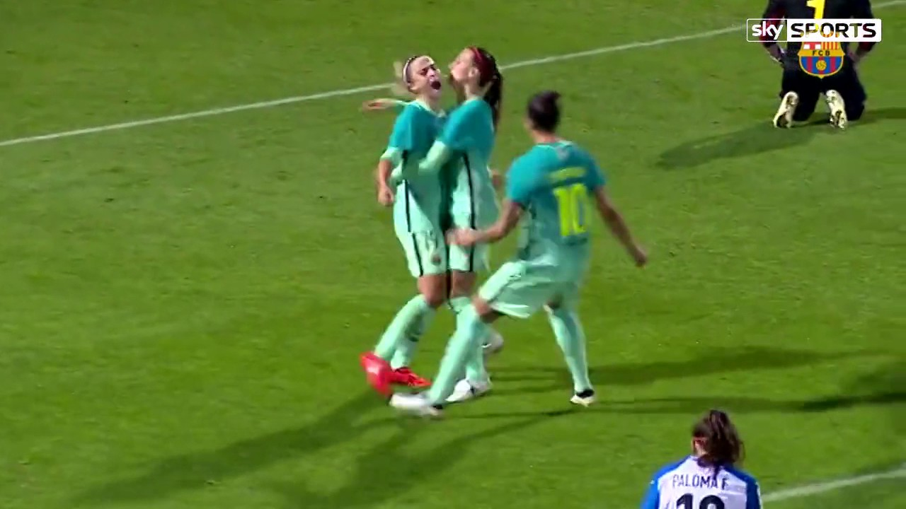 Stunning solo goal for fc barcelona women 2016 youtube - Forlady barcelona ...