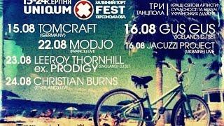 Uniqum-X-Fest. Live Set from Vj LeoMicron