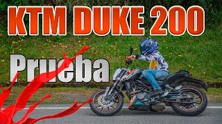 KTM DUKE 200 Test Ride | Prueba