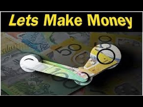 how to earn money on steam market
