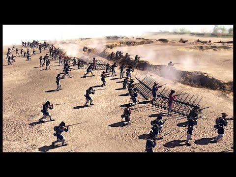 US Continental Army Beach Assault - British Fort Siege | Men of War Assault Squad 2 Mod Gameplay