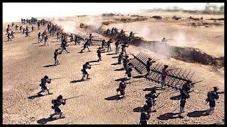 US Continental Army Beach Assault - British Fort Siege   Men of War Assault Squad 2 Mod Gameplay