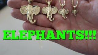 JACOJE Elephant pendant review!!!