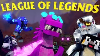 Minecraft | LEAGUE OF LEGENDS Mod Showcase! (LEAGUE OF LEGENDS MOD, LOL MOD, LEAGUE MOD)