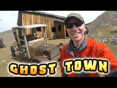 ABANDONED GHOST TOWN!!  Berlin, Nevada