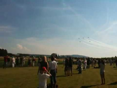 Air display grenchen patrouille suisse Tor